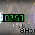 A las 18 Horas
